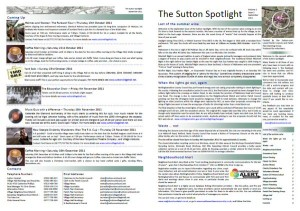 Sutton Spotlight - September 2011