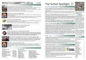Sutton Spotlight - September 2011