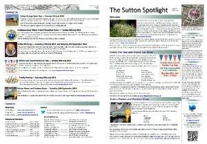 Sutton Spotlight - June 2014