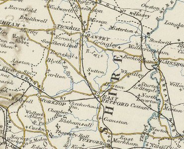 An old map of the Sutton area