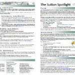 Sutton Spotlight - March 2012