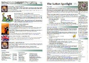 Sutton Spotlight - March 2012