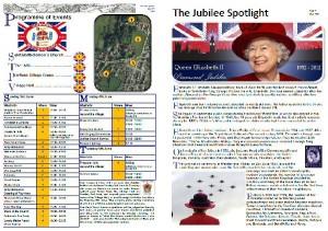Diamond Jubilee Spotlight - May 2012