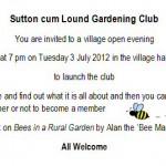 Gardening Club - 03 July 2012
