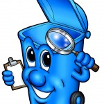 Blue Bin Contamination - 29 October 2012
