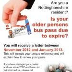 NCC Bus Pass Update - November 2012