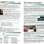 Sutton Spotlight - March 2013