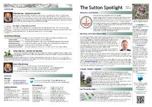 Sutton Spotlight - March 2014