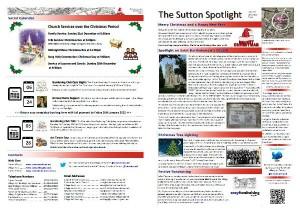 Sutton Spotlight - December 2014
