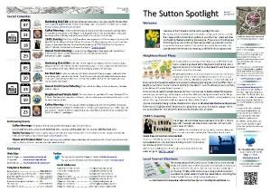 Sutton Spotlight - March 2015