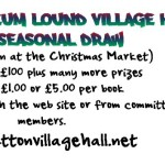 Village Hall Seasonal Draw