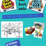 Village Hall Table-top and Car Boot Sale (Updated) - 26 June 2016