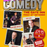 Comedy Night at The Gate Inn - 30 September 2016
