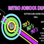 Retro School Disco - Saturday 9 September 2017