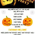 Halloween Party - Saturday 28 October 2017