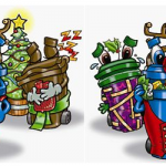 Christmas Bin Collections - December 2018 to January 2019