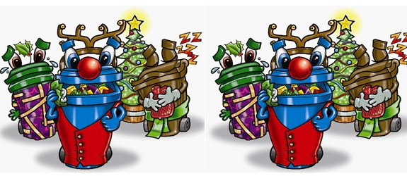 Christmas Bin Collections – December 2018 to January 2019