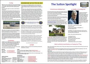 Sutton Spotlight - March 2019 (PDF)