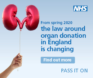 Organ donation law in England is changing