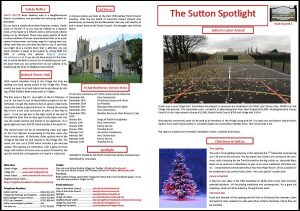 Sutton Spotlight - December 2019 (PDF)