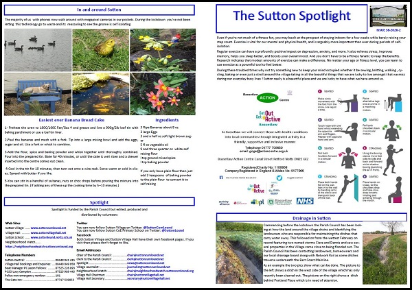 Sutton Spotlight - May 2020