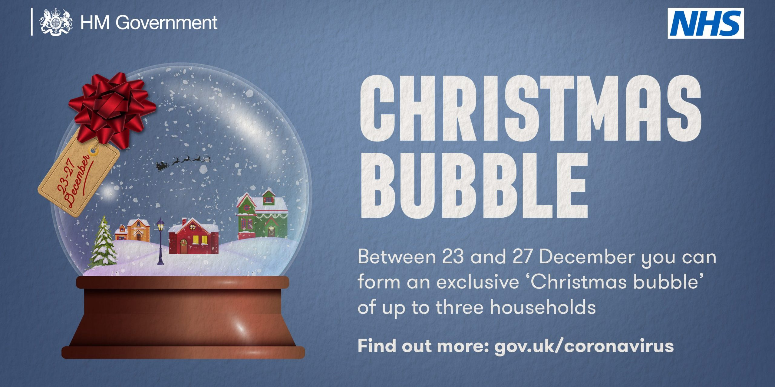 Coronavirus Update: Christmas Bubbles