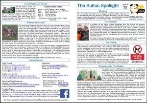 The Sutton Spotlight for March 2021 (PDF)